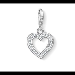 Thomas Sabo chain necklace with heart charm